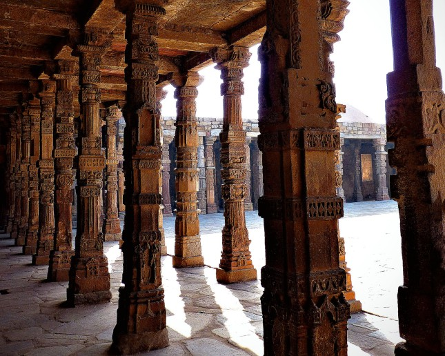 Qutab Minar Columns
