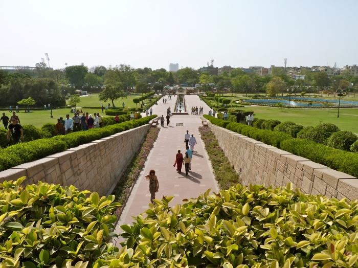 Mahatma Gandi's Memorial Raj Ghat.