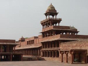 A deserted Fatehpur Sikri.