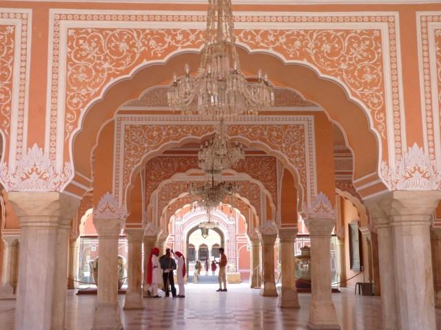 Insdie The Chandra Mahal