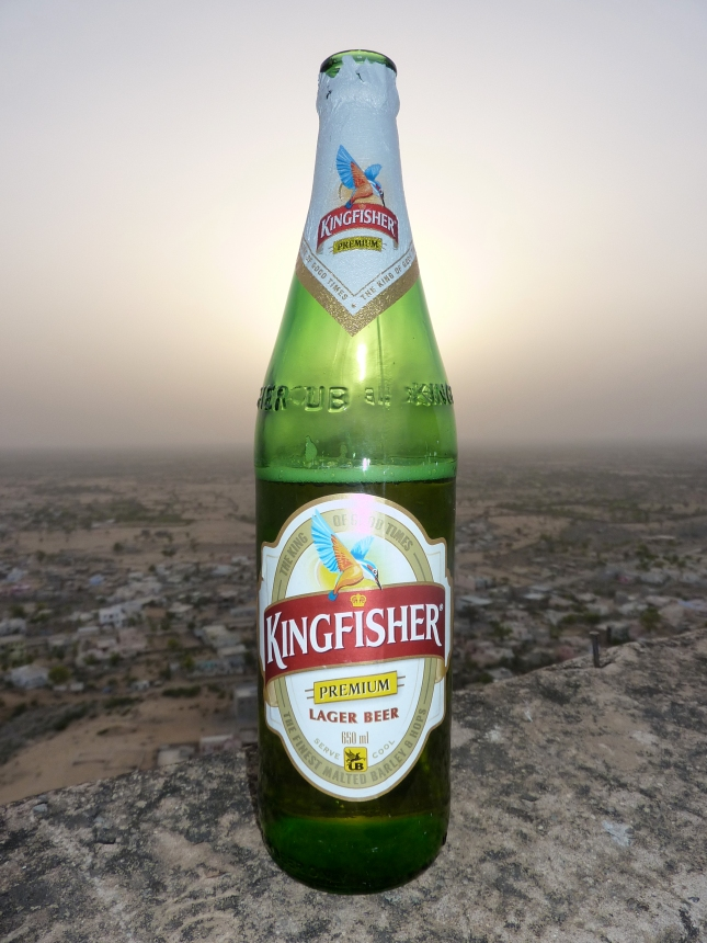 Kingfisher Beer, the beer of Indian Princes!