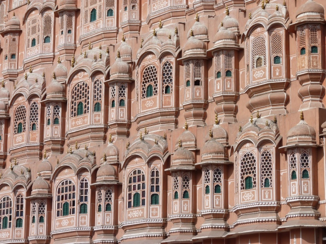 "The ""Palace of the Winds"", Jaipur."