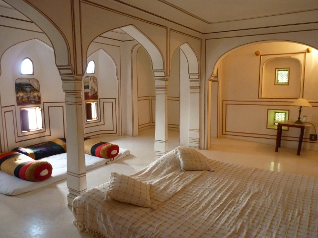 Stings' and now 'my' room at Kuchaman Fort.