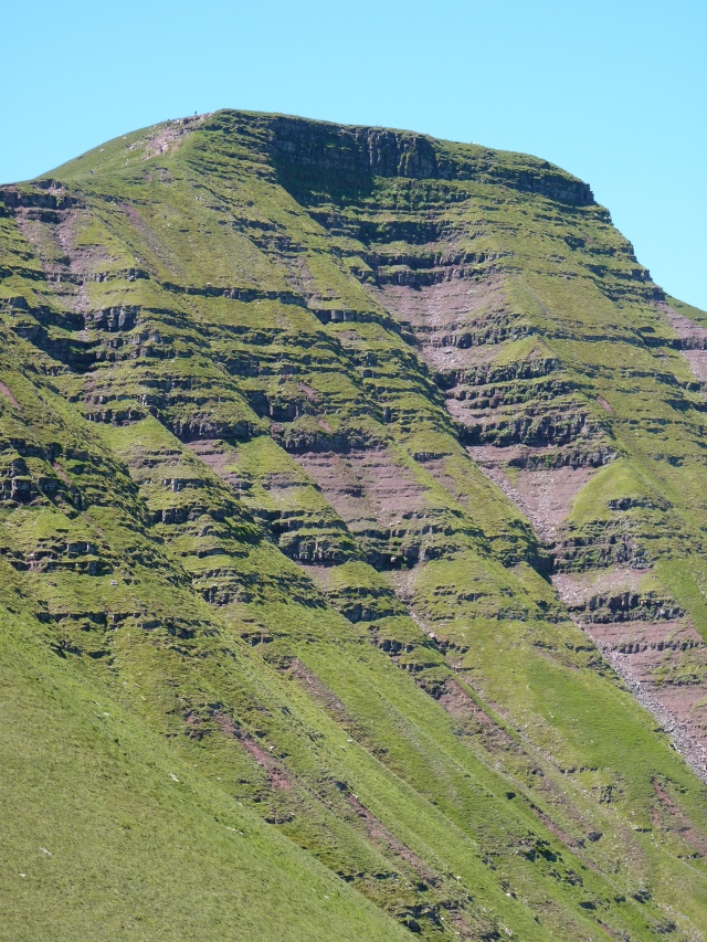 The North Face of Pen y Fan.
