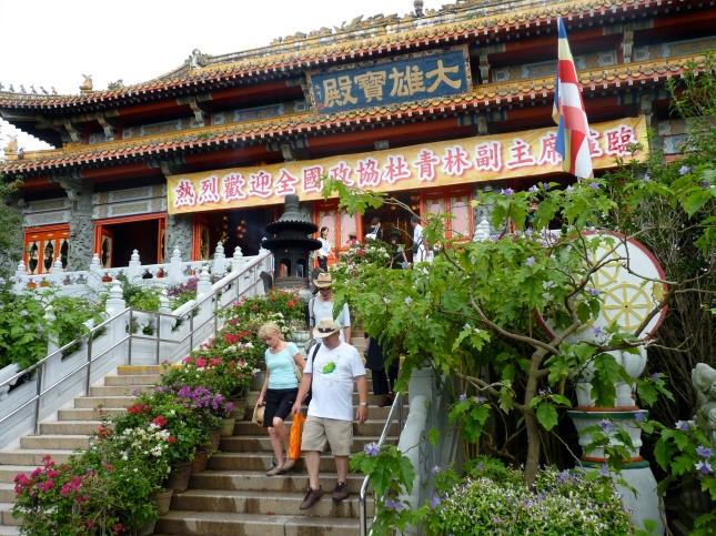The Po Lin Monastery.