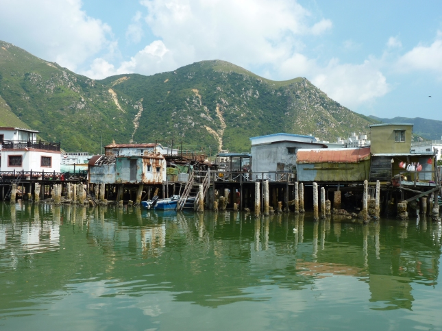 The stilt house of Tai O - Lantau Island.