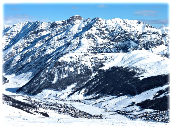 The Livigno Valley and village.