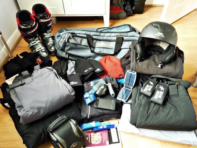 Ski Kit Check-list.