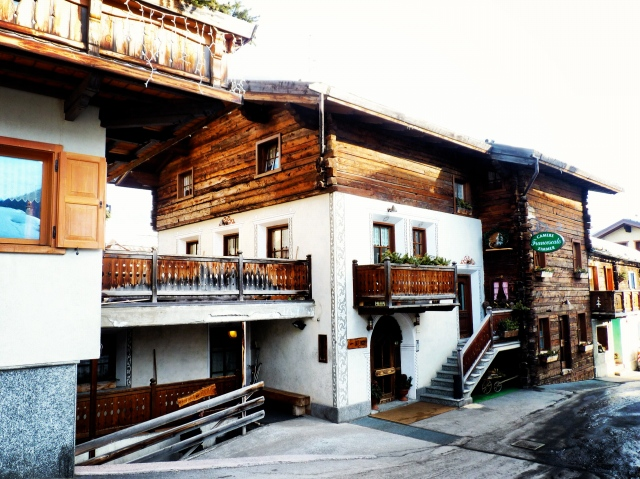 The Garni Francescato - our accommodation.