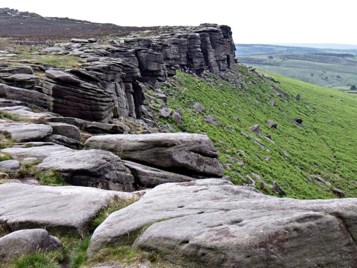 The southern section of Stanage Edge.