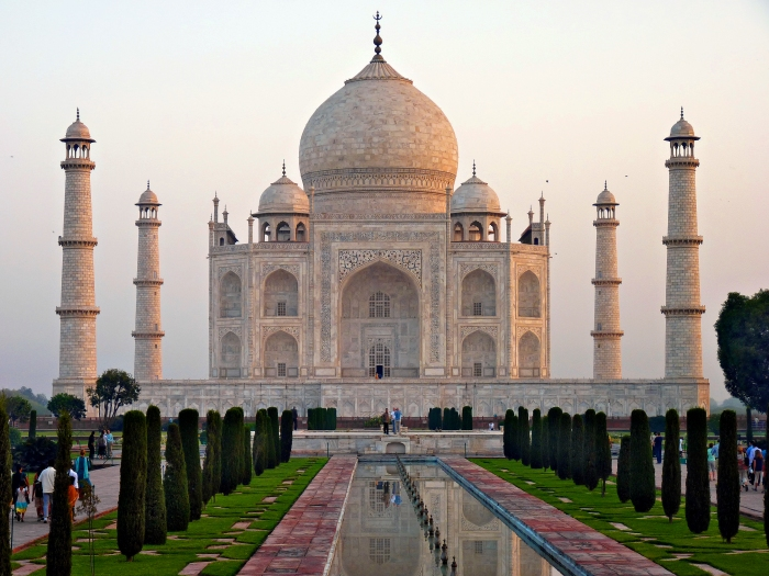 The Taj Mahal, Agra, India.