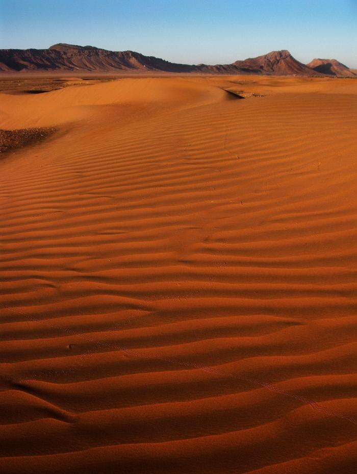 Tinfou sand dunes, Zagora