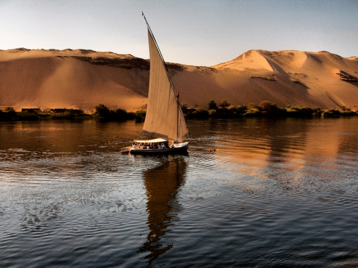 Felucca upon the Nile