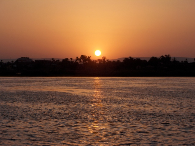 A Nile Sunset