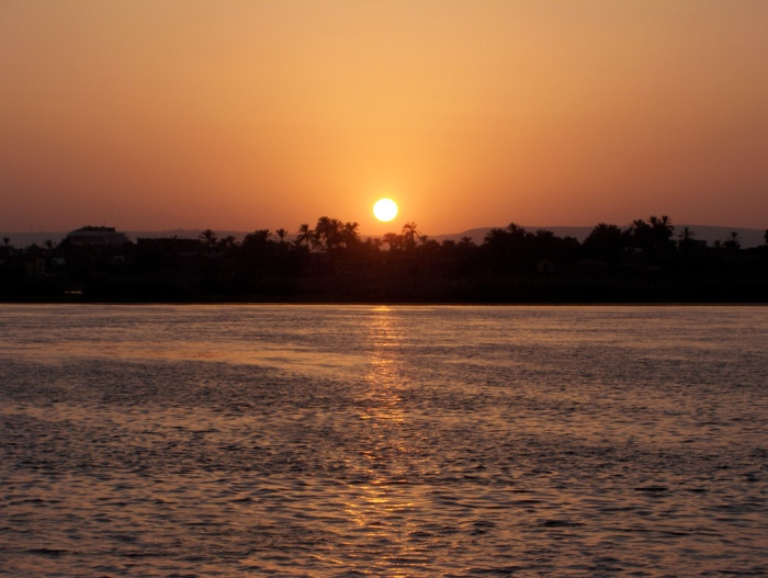 A Nile Sunset
