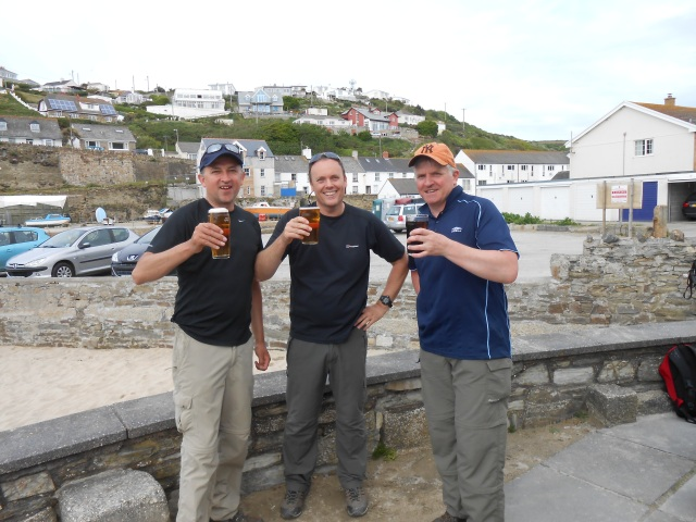 Finishing at The Waterfront Inn, Portreath