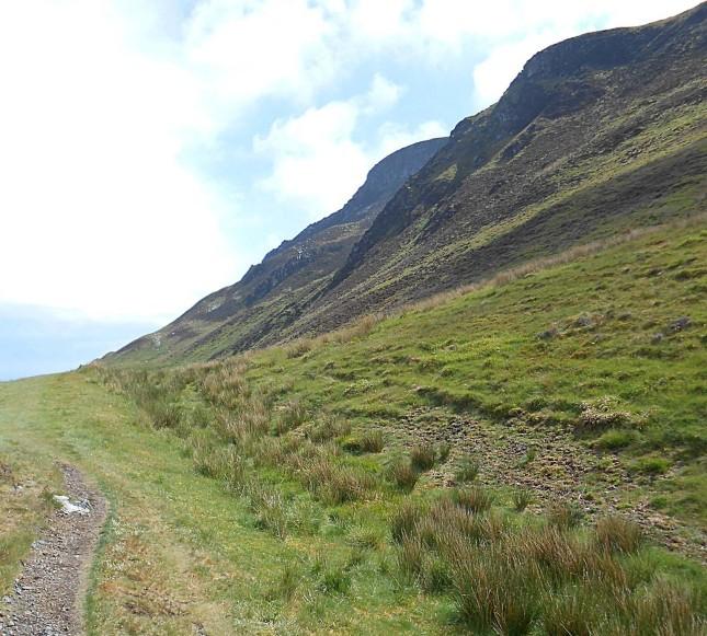 The pass beneath Torr Meadhonach - Isle of Arran