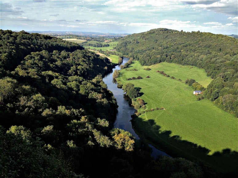 The River Wye from Symonds Yat Viewpoint