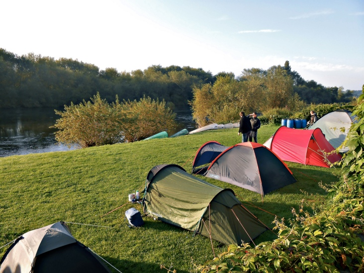 Riverside Campsite at the White Lion Inn