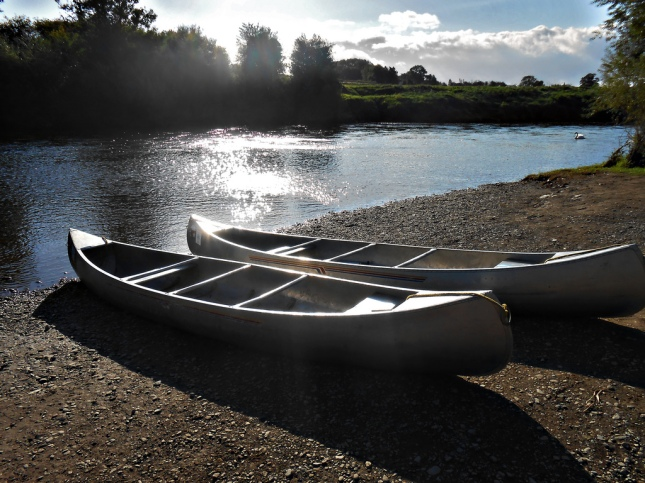 A Canoeing Microadventure