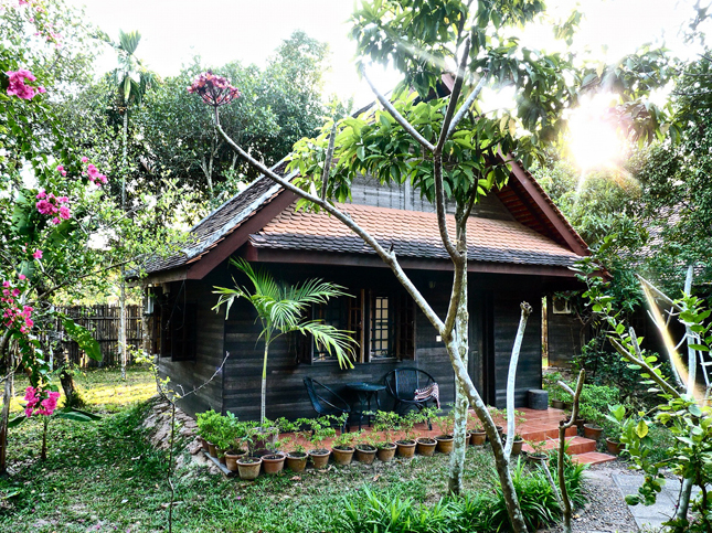 Our bungalow at the Kok Chork Commune