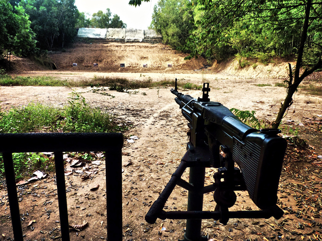 The Firing Range at Cu Chi