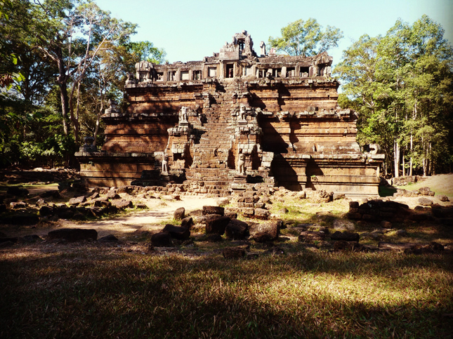 Unknown pyramid temple complex, Ankgor Wat, Cambodia