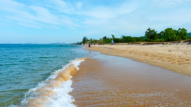 Beach in beautiful Phu Quoc