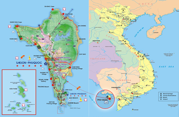 Phu Quoc Map