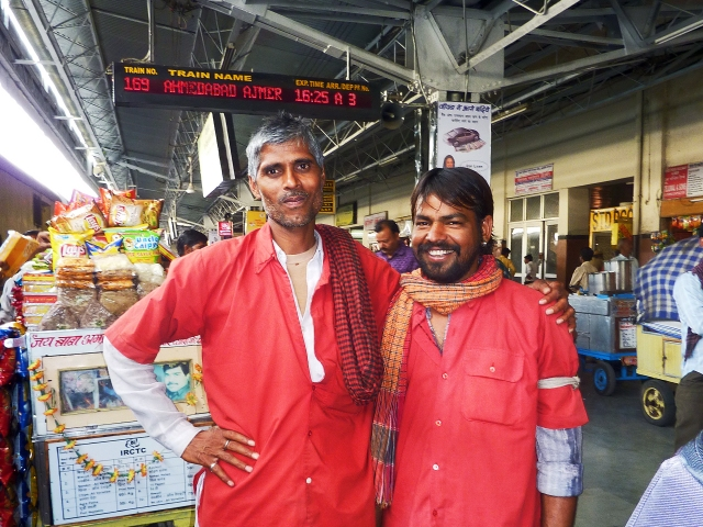 Porters at Ajmer Station, Rajasthan