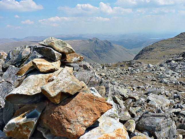 Summit Cairn on Esk Pike