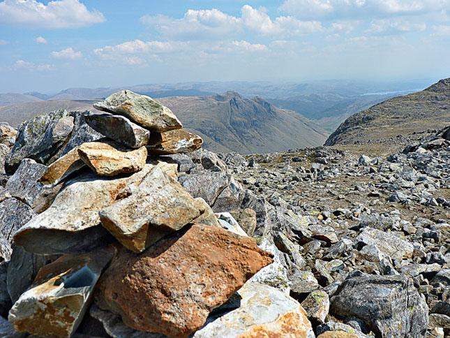 Summit Cairn on Esk Pike