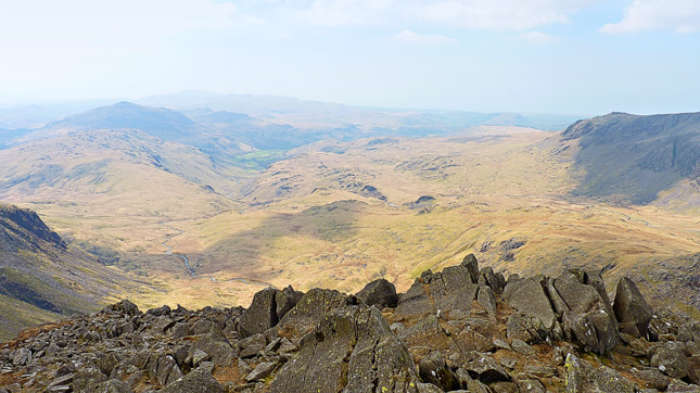 Looking across the vast expanse of Great Moss