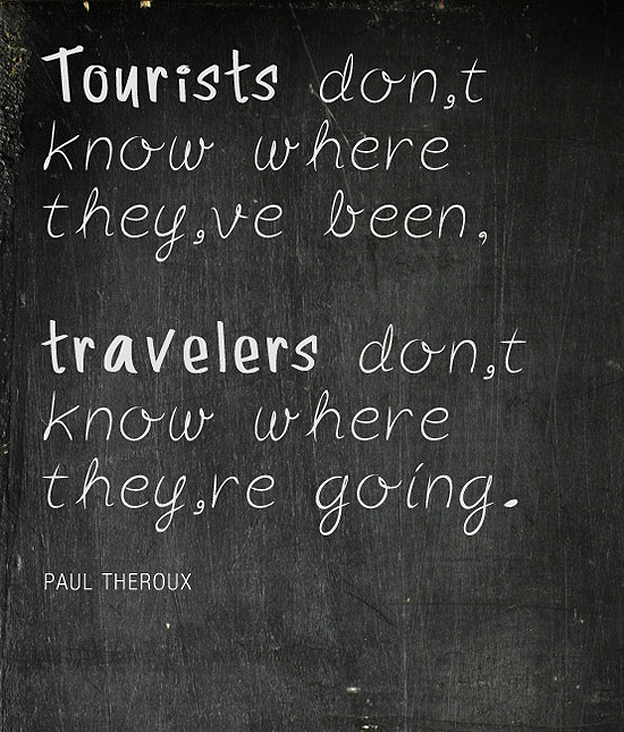 Travel or Tourist