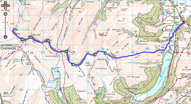 Route Map - Day 2