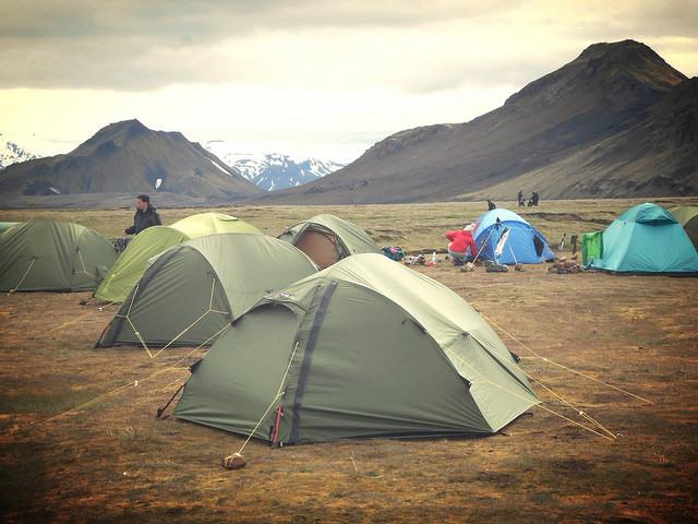 Álftavatn Campsite