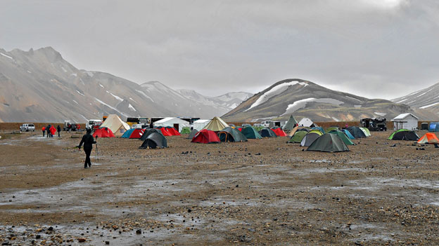 Landmannalaugar Base Camp