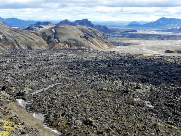 The Laugahraun lava field