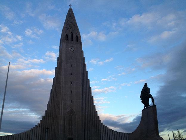 The Hallgrímskirkja -Reykjavík