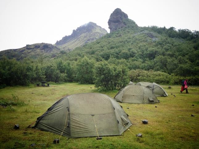 Básar campsite