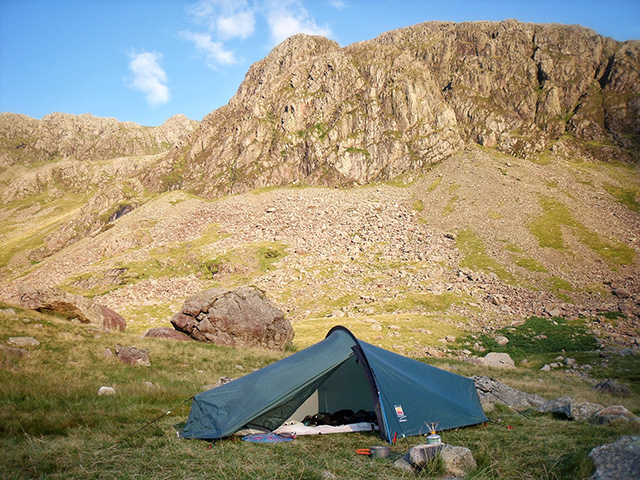 Base Camp for Scafell Pike