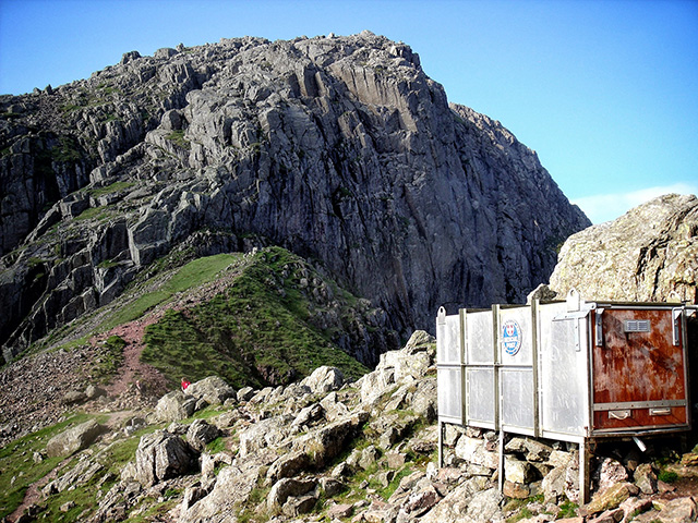 Mickledore Mountain Rescue Stretcher Box