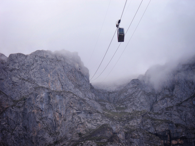 Fuente dé - the fastest cable car in europe