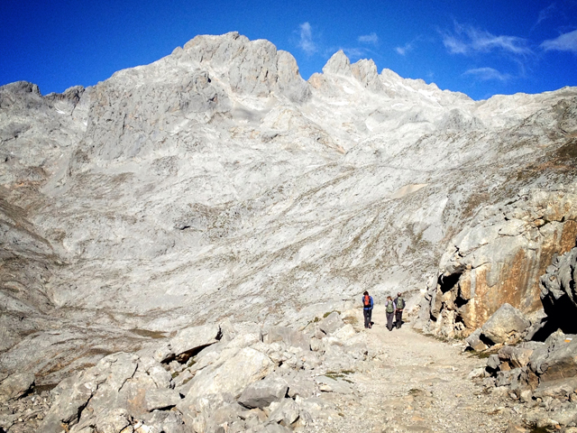 The hike deep into the Central Massif