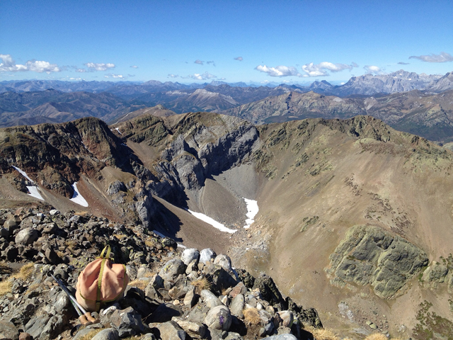 Summit view on Pena Prieta