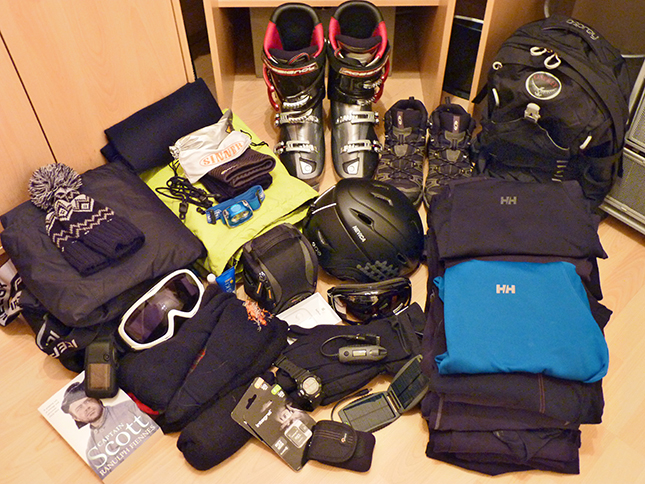 Ski Kit for the Dolomites 2014