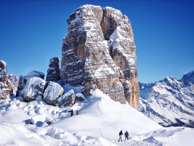 The Cinque Torre region with its spectacular rock formations