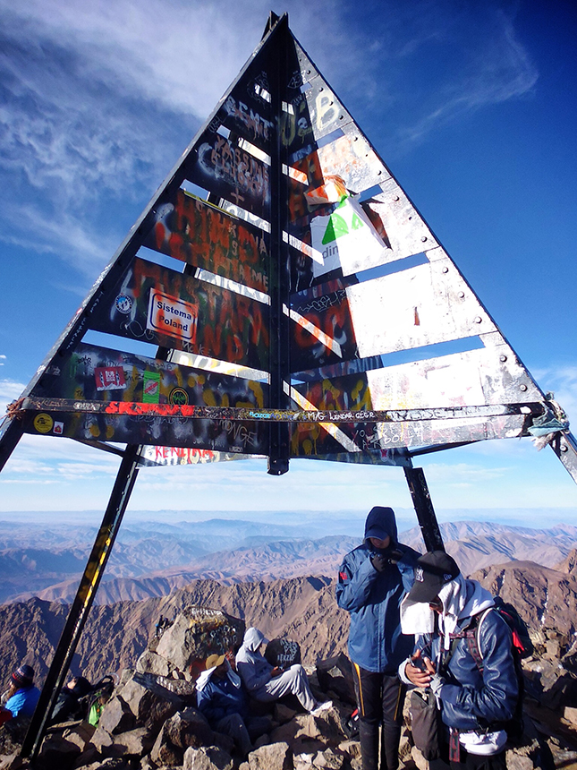 The Summit of Mount Toubkal
