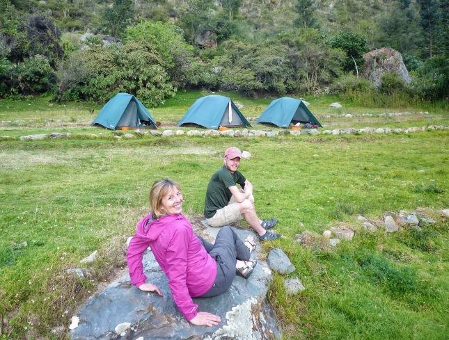 Llactapata Campsite (2600m)