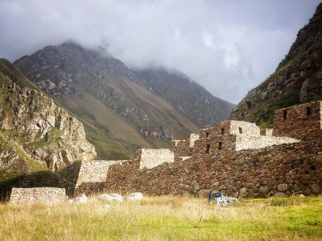 The ruins of Llactapata